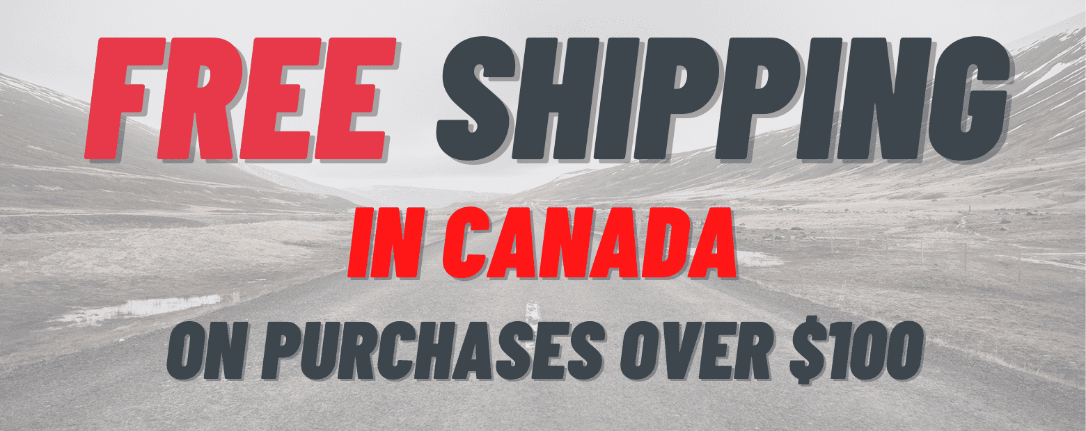 free shipping in Canada on large purchases