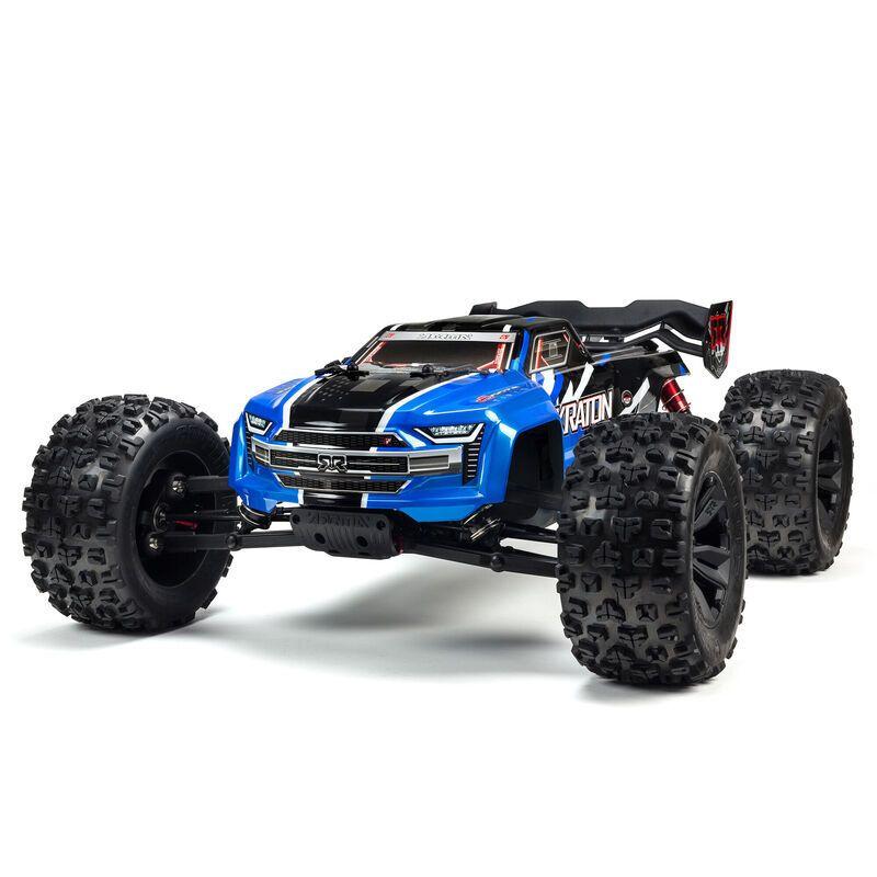 1/8 KRATON 6S V5 4WD BLX Speed Monster Truck with Spektrum Firma RTR, Blue