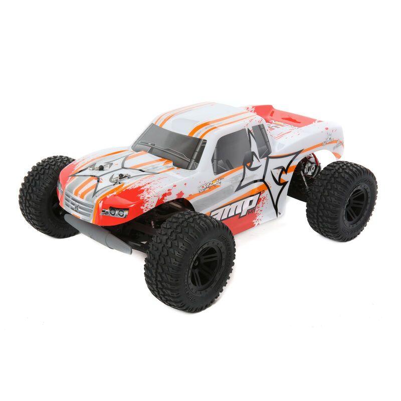 AMP 1:10 2WD MT:White/Orange RTR