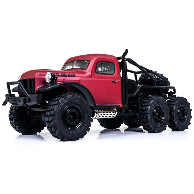 1/18 Atlas 6x6 RTR Crawler, Red (FMMROC002T1)